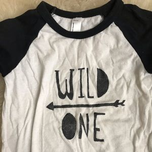 Other - Wild One hipster 3/4 length shirts